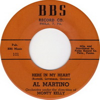 Al Martino - Here In My Heart 7 Inch