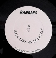 Bangles - Walk Like an Egyptian (White Label) record