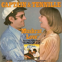 Captain and Tennille - Muskrat Love 7 inch