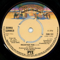 Donna Summer - Macarthur Park single push out spindle