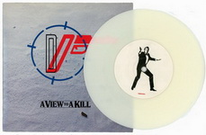 Duran Duran - A View To A Kill 7 Inch White Vinyl