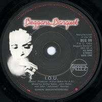 Freeez - I.O.U. 7 inch label
