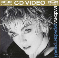 Madonna - Papa Don't Preach CD-Video Cover
