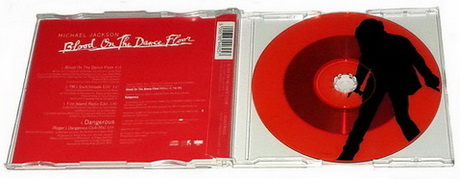 Michael Jackson - Blood on the Dancefloor CD Single