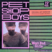 Pet Shop Boys - West End Girls Bobby Orlando Mix 12 inch