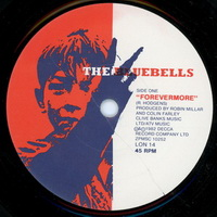 The Bluebells - Forevermore 7 inch label