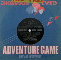 Thompson Twins - Adventure Game Flexi Disc